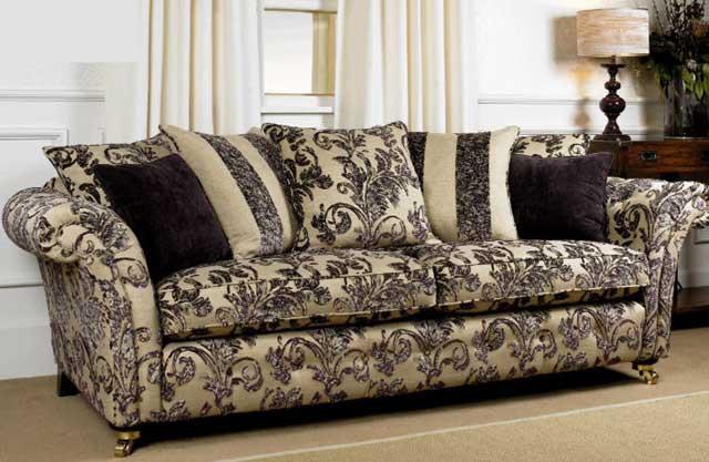 обивка мебели Жаккард в интерьере