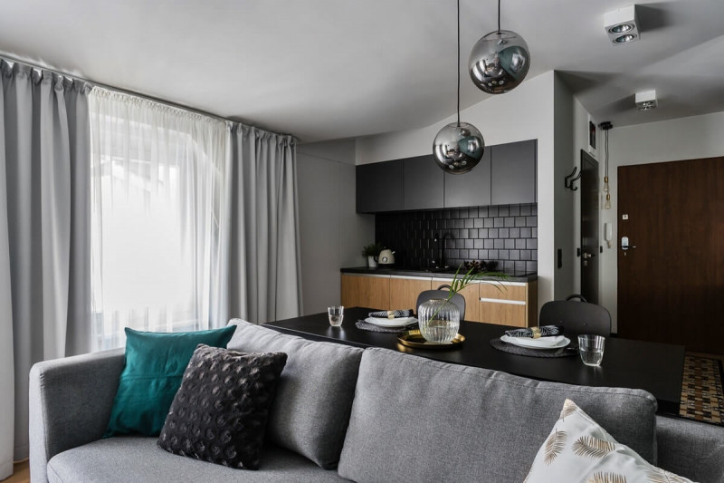 Варианты дизайна однокомнатной квартиры