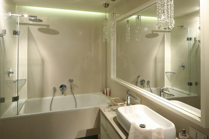Светильник в ванной в хрущевке