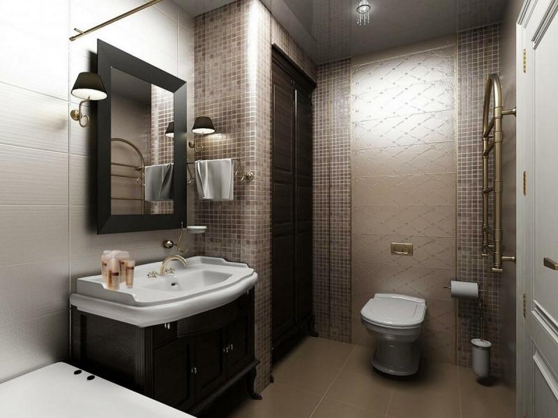 Ванная с туалетом дизайн